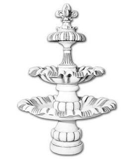 fontanna 3-poziomowa lillia