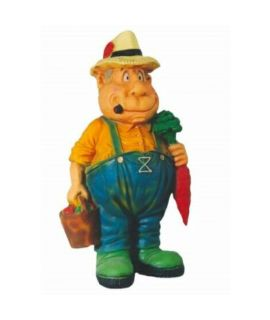 Farmer z marchewką. Forma farmera z marchewką.