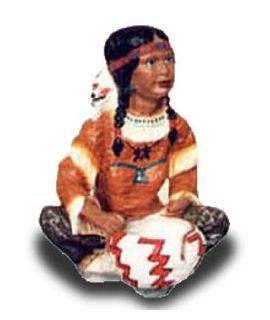 Indianka siedząca