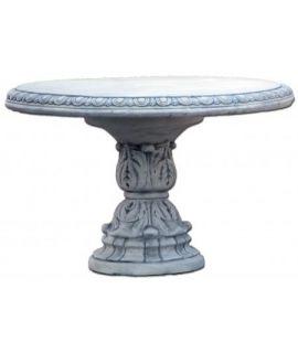 Forma betonowego stołu