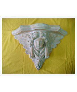 Forma do kroksztynu z aniołem