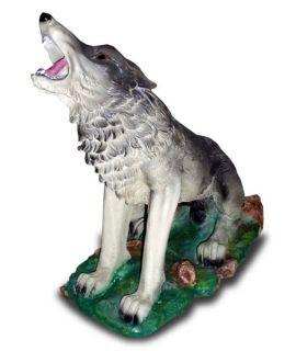 Wilk na postawie