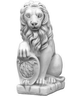 Średni lew z tarczą lewy