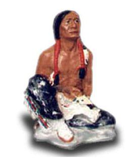 Indianin siedzący