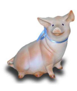 Świnka siedząca