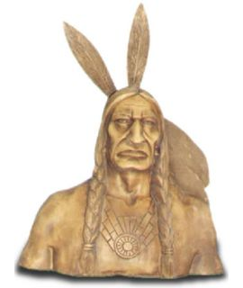 Duże popiersie Indianina