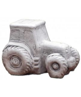 Betonowy traktor