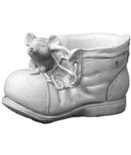 Doniczka but z myszką