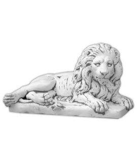 Duży lew leżący prawy