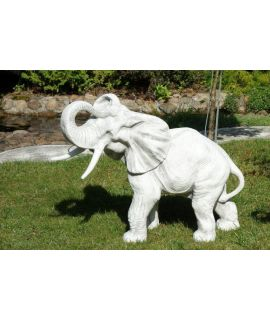 Ozdobny słoń betonowy