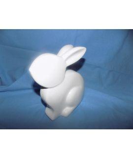 ozdobny królik gipsowy
