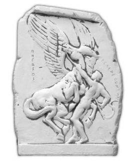 Forma do płaskorzeźby  Bellerofonta z Pegazem