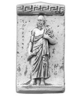 Forma do płaskorzeźby Sokratesa