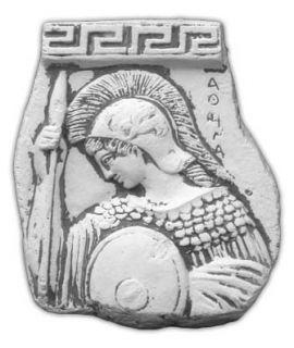 Forma do płaskorzeźby Spartanina