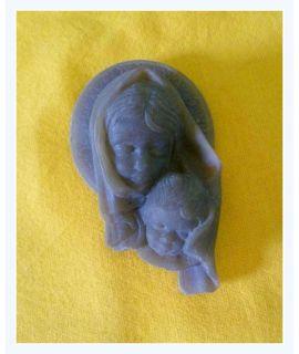 Maria z Jezusem płaskorzeźba