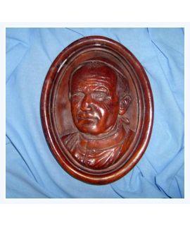 Papież Jan Paweł II płaskorzeźba