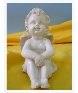 Aniołek siedzący mały