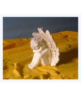 Aniołek średni z dużymi skrzydłami
