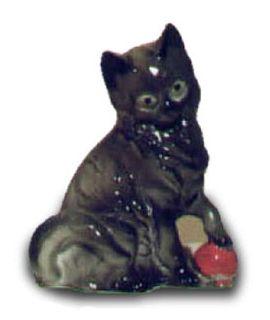 Kotek z piłką