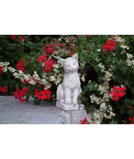 kot betonowy ozdobny