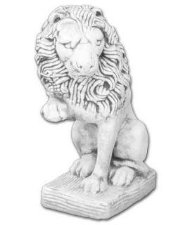 Lew z łapą w górze lewy