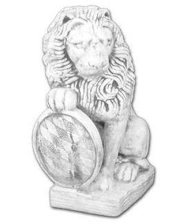 Duży lew z tarczą lewy