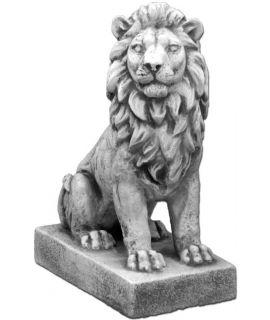 lew ozdobny z betonu
